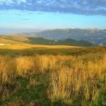 Agosto 2015 - Nella bella foto di Cristian Colognato il Monte Baldo al sorgere del sole in una domenica di bel tempo di fine agosto. Solo qualche foschia sulla pianura e sul basso Garda e qualche strato nuvoloso sulle Prealpi.