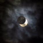 Marzo 2015 - La foto del mese di marzo, di Graziano Gabaglio, è dedicata all'eclissi parziale di sole che ha avuto luogo il 20 marzo. Sul veronese è stato oscurato circa il 60% del sole.