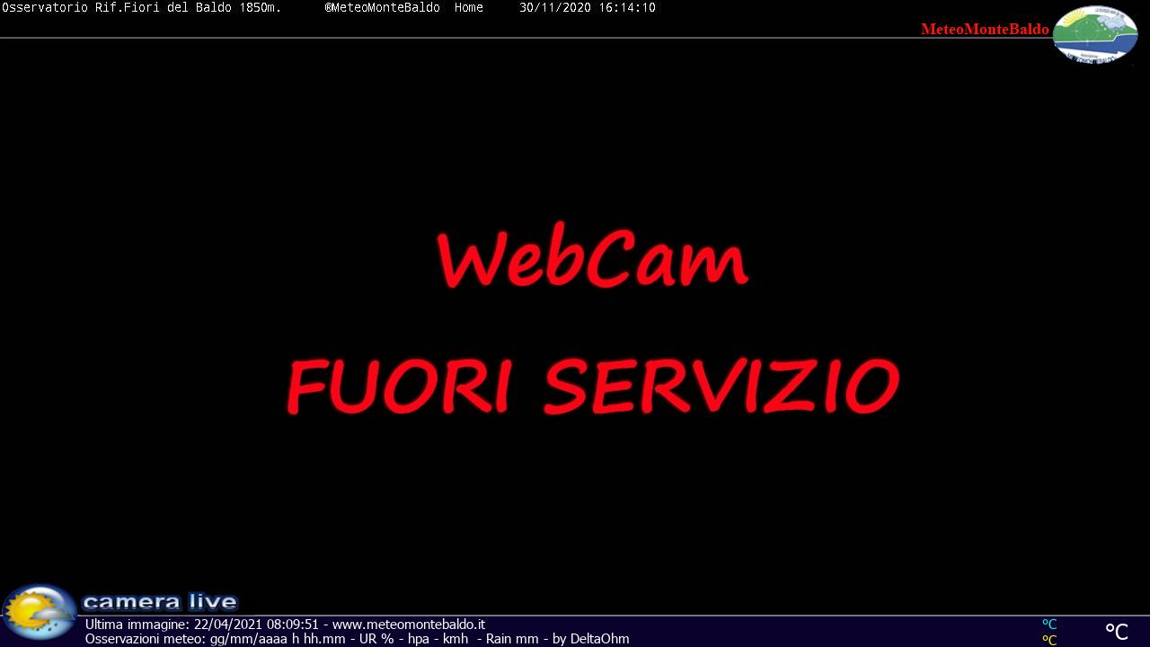 Webcam Monte Baldo